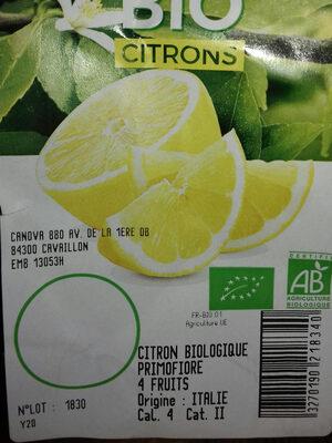 Citron - Ingrediënten