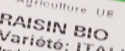 Raisins - Ingrédients - fr