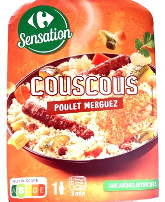 Couscous Poulet Merguez - Product - fr