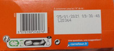 Lasagnes à la bolognaise à l'emmental - Instruction de recyclage et/ou information d'emballage - fr