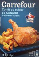 Confit de cuisse de Canard (x 1) - Product - fr