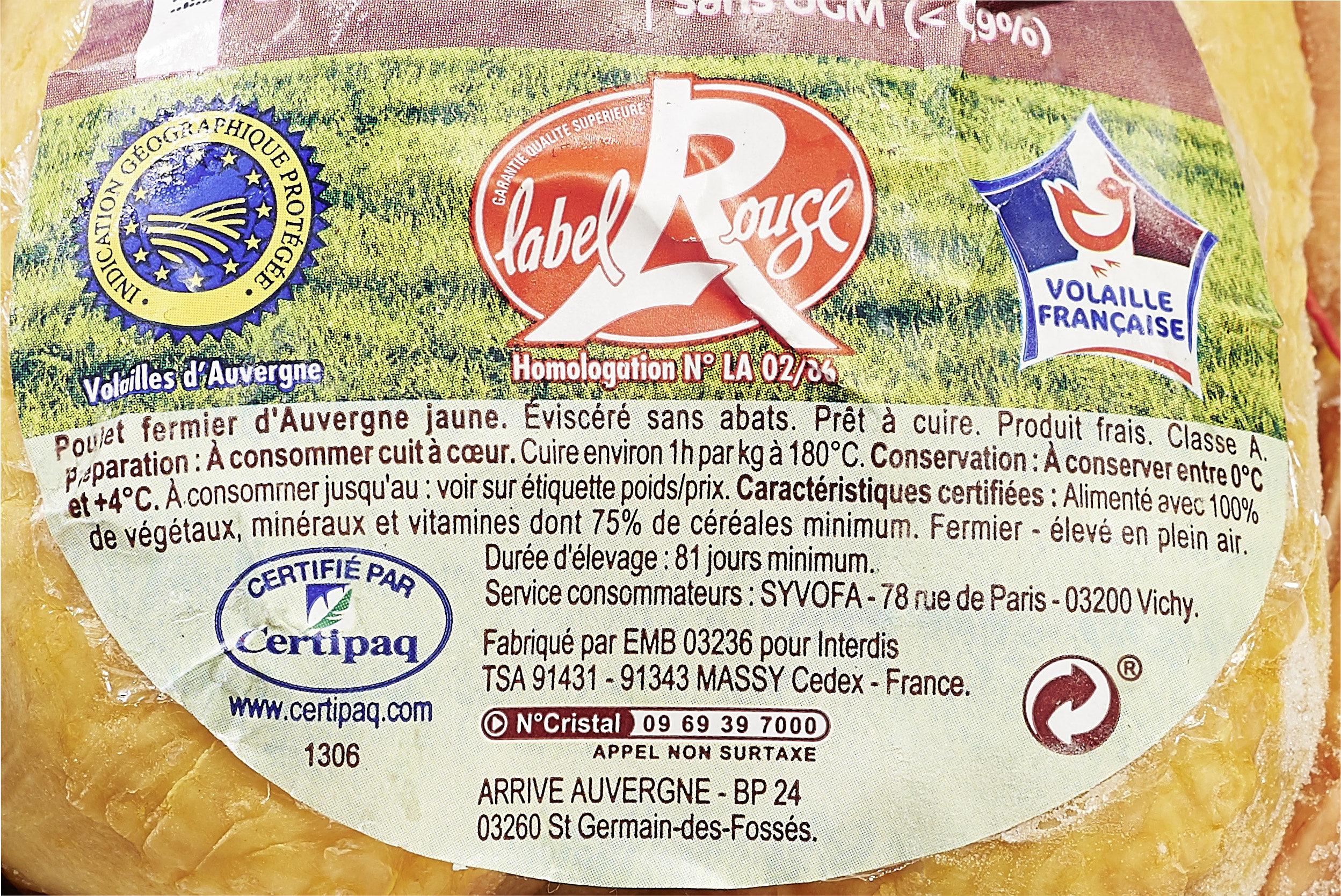 Poulet cou nu jaune fermier du sud est - Product - fr