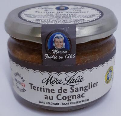 Terrine de sanglier au cognac - 180g - Mère Lalie - Product