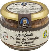 Terrine de sanglier au cognac - Produit - fr