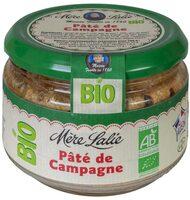 Pâté de campagne Bio - Produit - fr