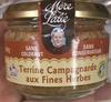 Terrine Campagnarde aux Fines Herbes - Produit