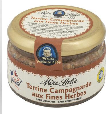 Terrine Campagnarde aux Fines Herbes 200g - Produit - fr