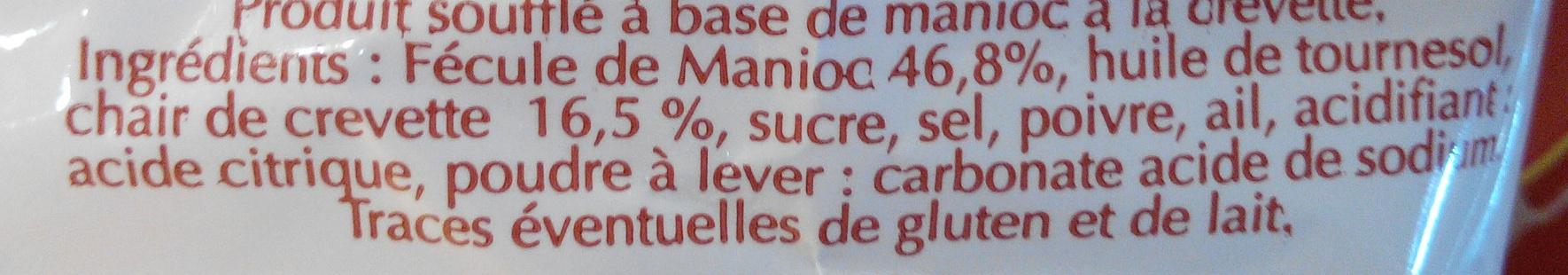 Chips à la Crevette - Ingrédients - fr