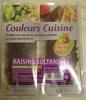 Raisins Sultanines - Prodotto