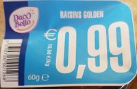 Raisins secs - Product - fr
