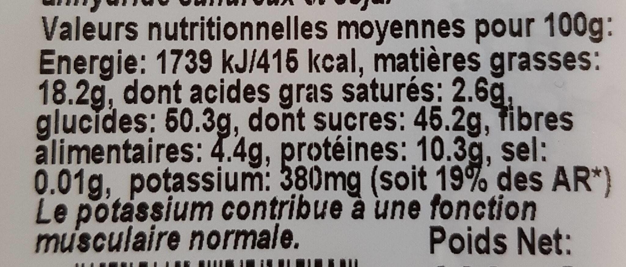Formule pep's - Informations nutritionnelles - fr