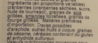 Formule boost - Ingredients - fr