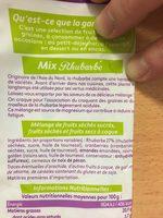 Mix rhubarbe - Ingredients - fr
