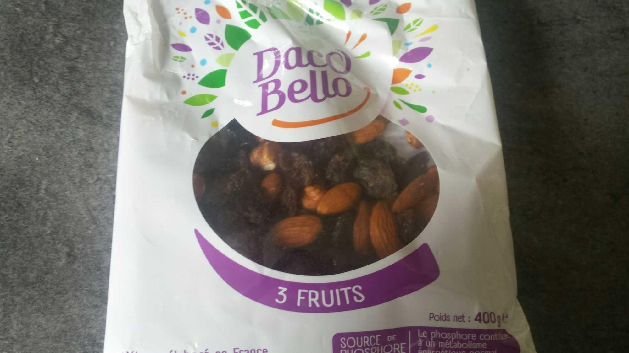 Mix 3 fruits - Prodotto - it