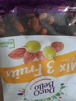 Mix 3 fruits - Valori nutrizionali - fr