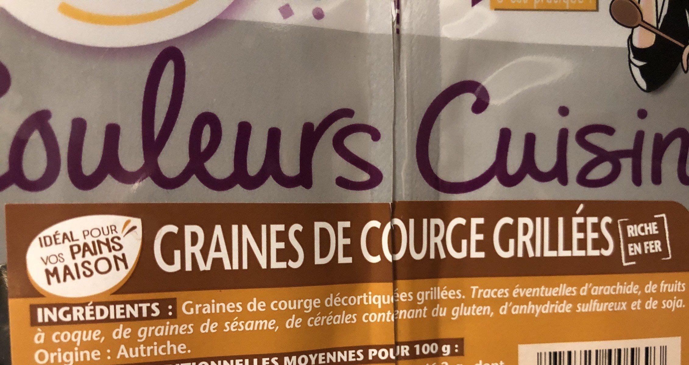 Graines de Courges - Ingrediënten - fr