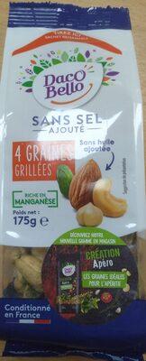 4 graines grillées - Produit - fr