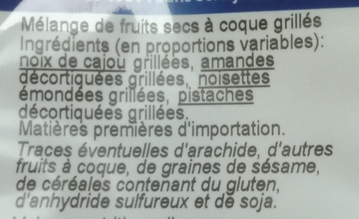4 graines grillées - Ingrédients - fr