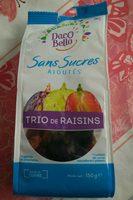 Trio de raisins - Product - fr