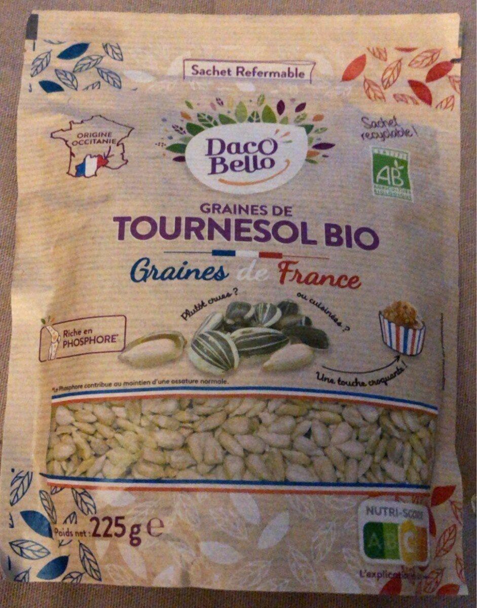 Graines de tournesol bio - Produit - fr