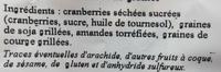 Formule Boost - Ingrédients - fr