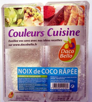 Noix de coco râpée - Product