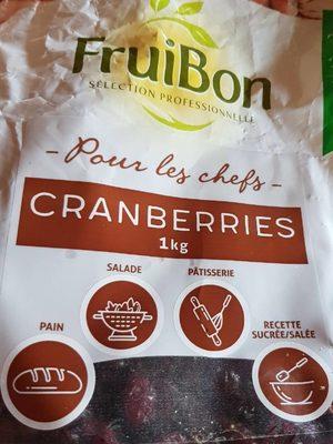 Cranberries - Product - fr
