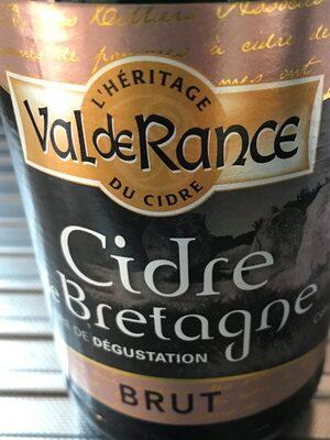 Cidre de bretagne - Product