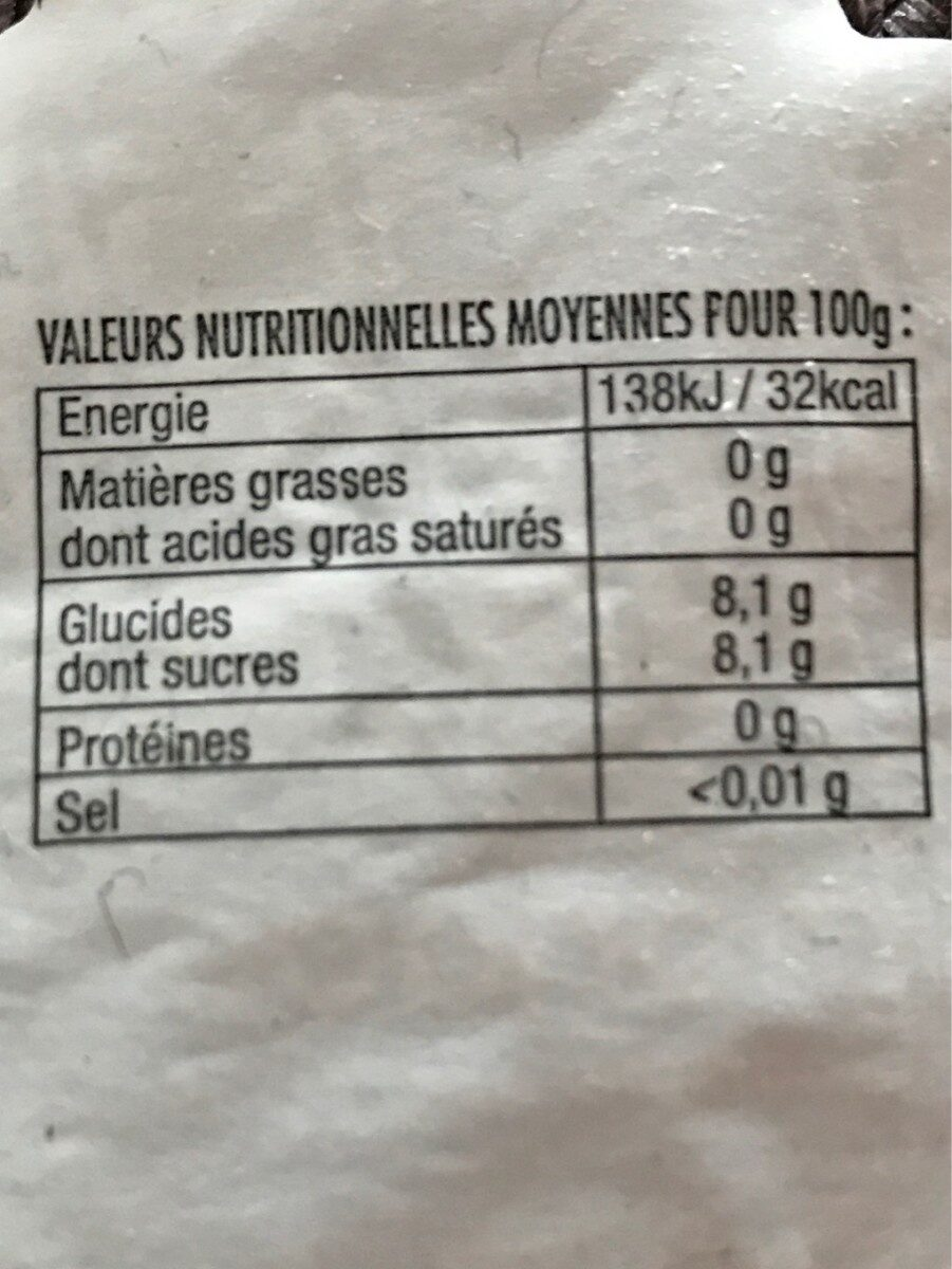 Breizh-limo - Nutrition facts