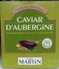 Caviar d'aubergine - Product