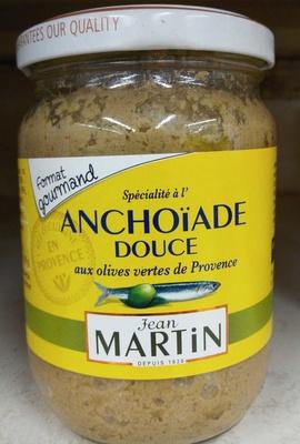 Spécialité à l'Anchoïade douce aux olives vertes de Provence - Product - fr