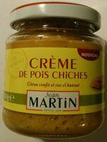 Crème de pois chiches - Product - fr