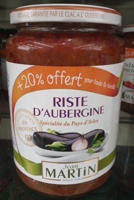 Riste d aubergine - Product