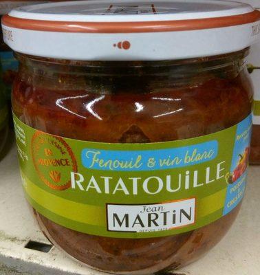 Ratatouille fenouil & vin blanc - Produit