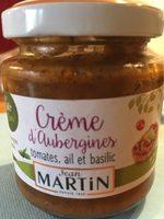Crème d' aubergines - Produit - fr