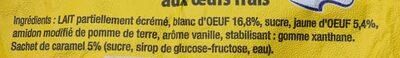 Ile Flottante 95 g + 5 g - Ingrédients - fr
