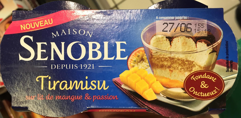 Tiramisu sur lit de mangue & passion - Product - fr