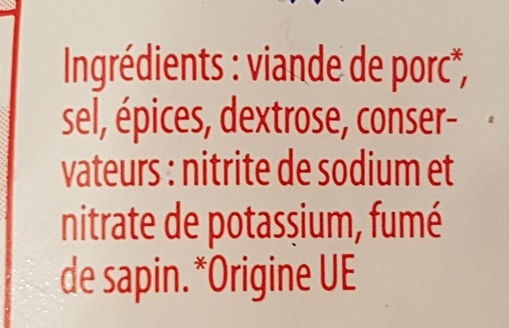 Jambon cru fumé - Ingrediënten - fr