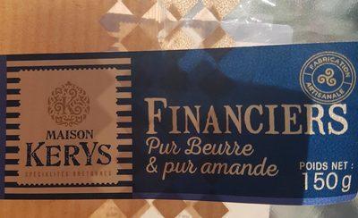 Financiers - Produit