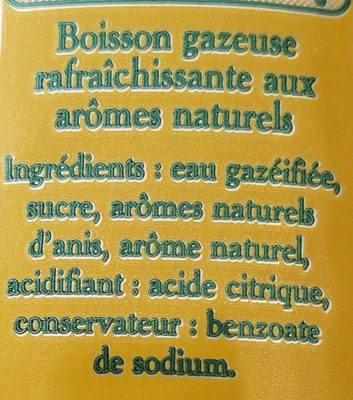 L'Ordinaire - Ingrediënten - fr