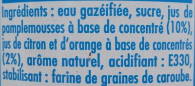 Vaval aux pamplemousses - Ingrediënten