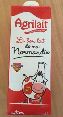 Lait entier UHT BBC sans OGM Normandie - Produit - fr