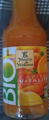 Capital Vitamine - Orange, Carotte, citron - Produit