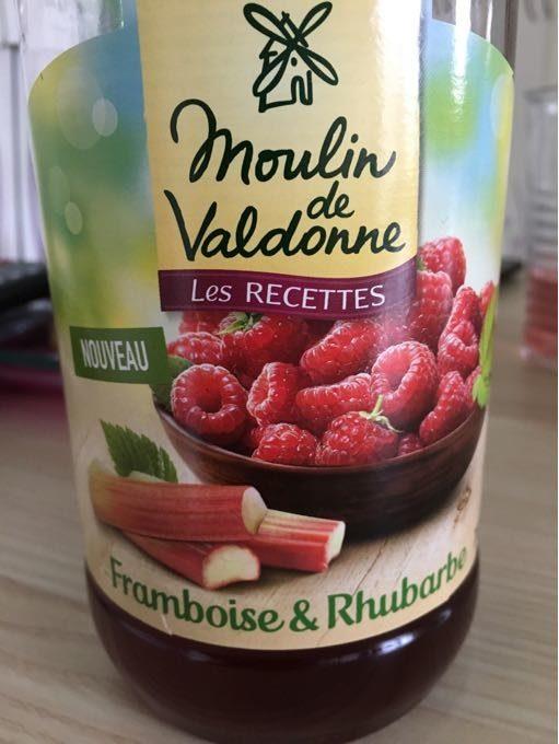 Moulin De Valdonne Sirup Himbeere & Rhabarber - Produit - fr