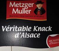 Veritable Knack d'Alsace - Produit - fr