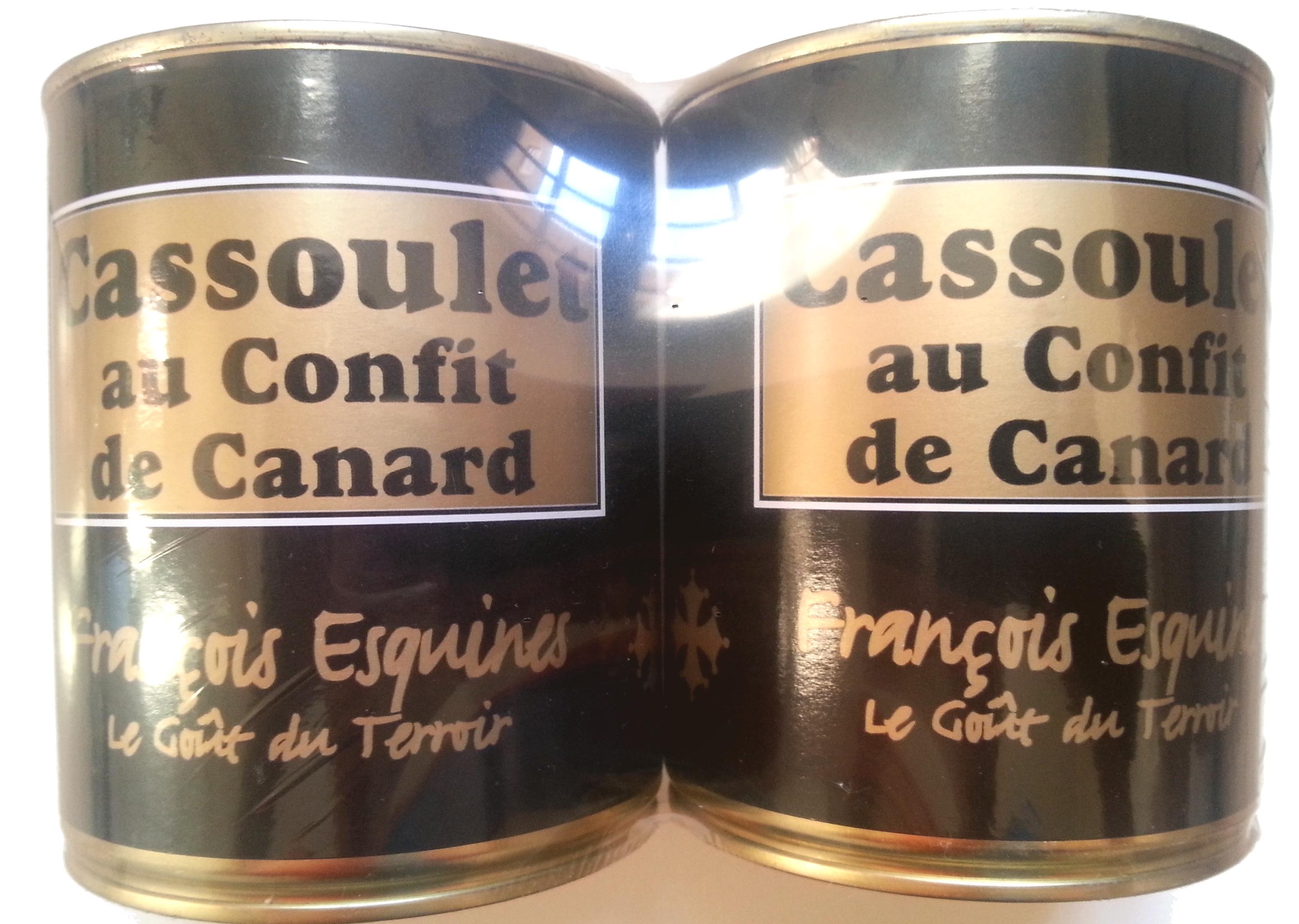 Cassoulets au Confit de Canard (Lot de 2) - Produit