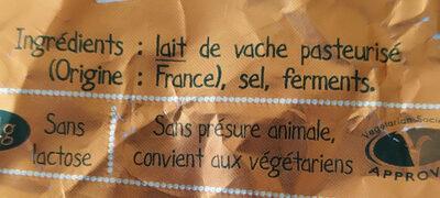 L'Ortolan original - Ingrédients - fr