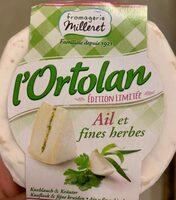 l'Ortolan - Ail et Fines Herbes - Produit - fr