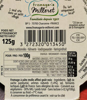 Roucoulons Noix (30% MG) - Ingrédients - fr