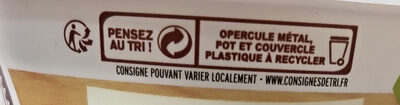 La Cancoilllotte Fumée - Recycling instructions and/or packaging information - fr